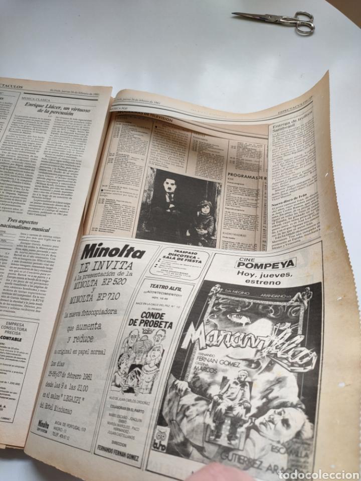Coleccionismo de Periódico El País: Periódico El País 26 de febrero de 1981. - Foto 7 - 270226138