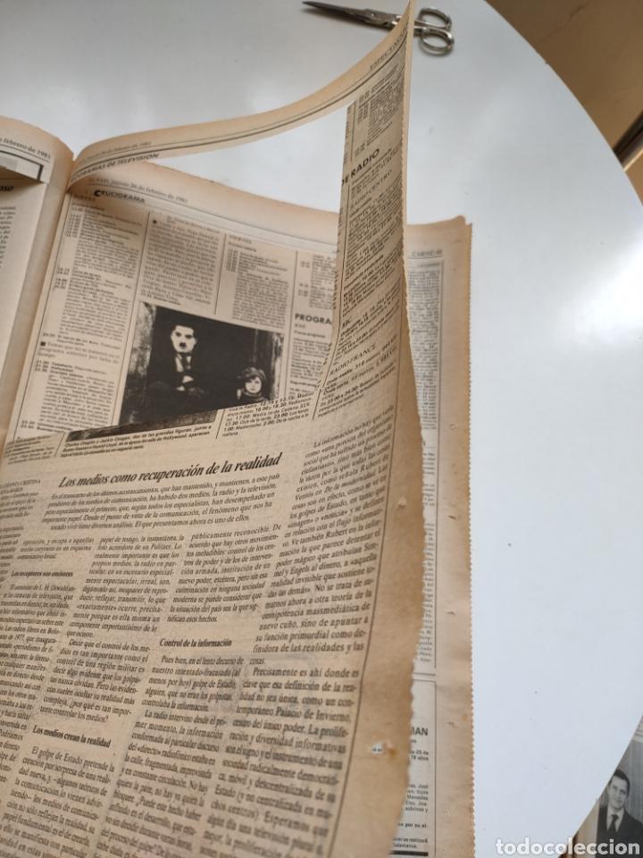 Coleccionismo de Periódico El País: Periódico El País 26 de febrero de 1981. - Foto 8 - 270226138