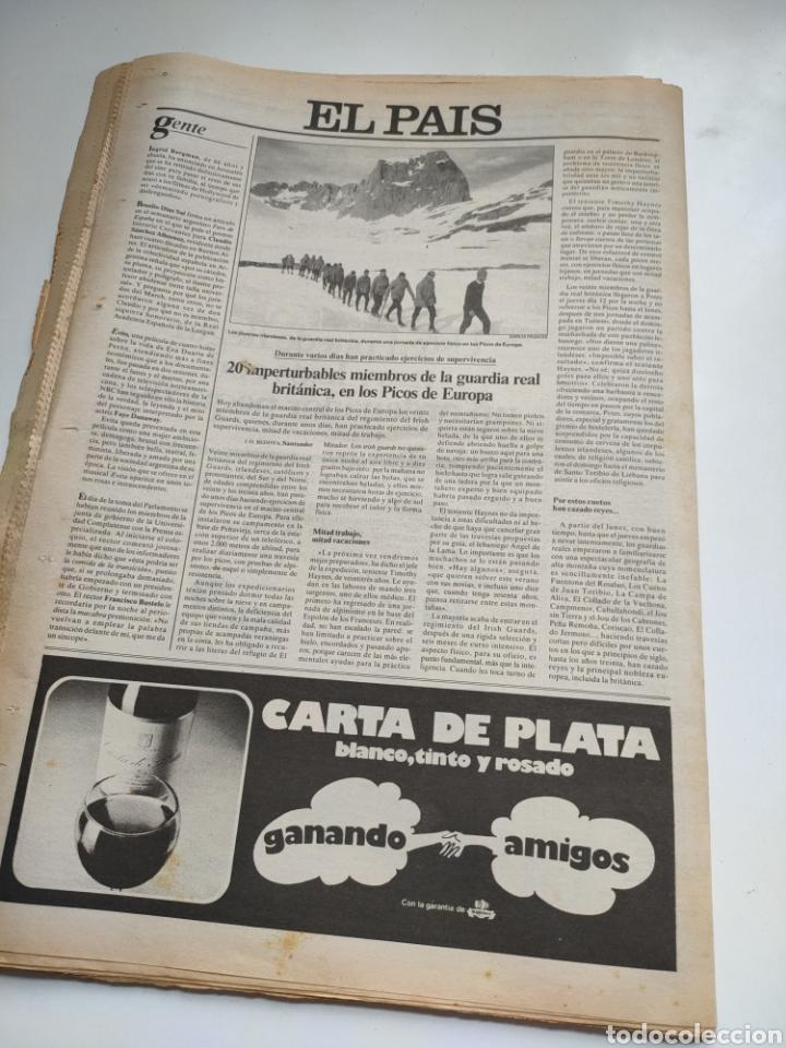 Coleccionismo de Periódico El País: Periódico El País 26 de febrero de 1981. - Foto 9 - 270226138
