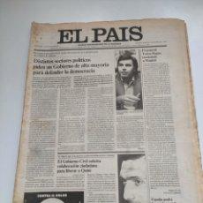 Coleccionismo de Periódico El País: PERIÓDICO EL PAÍS 3 DE MARZO 1981.. Lote 270230493