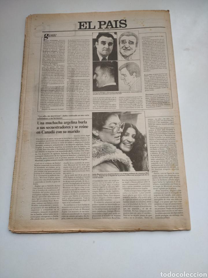 Coleccionismo de Periódico El País: Periódico El País 5 de marzo 1981. - Foto 5 - 270232303