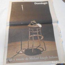 Coleccionismo de Periódico El País: VIDA Y MUERTE DE MICHAEL JACKSON-5-7-9-EL PAIS. Lote 270242263