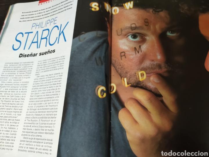 Coleccionismo de Periódico El País: Revista El País estilo. Philippe starck. Número 109 domingo 29 de octubre de 1990. - Foto 5 - 272093308