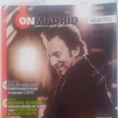 Collectionnisme de Journal El País: ON MADRID Nº 021 2006, BRUCE SPRINGSTEEN. REVISTA. Lote 272132498