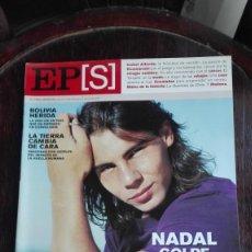 Coleccionismo de Periódico El País: EL PAÍS SEMANAL DOMINGO 10 DE JULIO DEL 2005 NADAL GOLPE A GOLPE. Lote 275113778