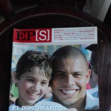 Coleccionismo de Periódico El País: EL PAÍS SEMANAL DOMINGO 17 DE JULIO DE 2005 EL DIPLOMÁTICO RONALDO. Lote 275114188