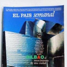 Coleccionismo de Periódico El País: EL PAÍS SEMANAL Nº 1079, 1 JUNIO 1997, BILBAO, JUANA LA LOCA Y FELIPE EL HERMOSO, FERNANDO COLOMO. Lote 287208623