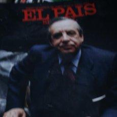 Coleccionismo de Periódico El País: EL PAIS SEMANAL SANCHEZ ASIAIN ANNIE LENNOX 1988. Lote 287351858