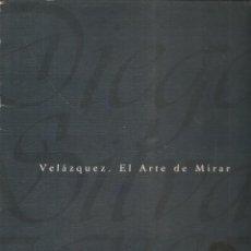 Coleccionismo de Periódico El País: VELÁZQUEZ. EL ARTE DE MIRAR. CARPETA Y 16 LÁMINAS ¡¡COMPLETO!!. EL PAÍS. (VI/9). Lote 295701778