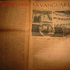 Coleccionismo Periódico La Vanguardia: DIARIO LA VANGUARDIA AÑO 1940 -MARTES 3 DE SEPTIEMBRE DE 1940-EL DONATIVO DEL EPISCOPADO ALEMAN. Lote 23971882