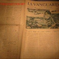 Coleccionismo Periódico La Vanguardia: DIARIO LA VANGUARDIA AÑO 1940 -MIERCOLES 11 DE SEPTIEMBRE DE 1940 - LA OFENSIVA AEREA CONTRA LONDRES. Lote 23971888