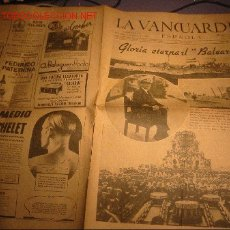 Coleccionismo Periódico La Vanguardia: DIARIO LA VANGUARDIA AÑO 1940 -MIERCOLES 6 DE MARZO DE 1940 - GLORIA ETERNAL AL BALEARES. Lote 21720692