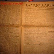 Coleccionismo Periódico La Vanguardia: DIARIO LA VANGUARDIA AÑO 1940 -VIERNES 10 DE MAYO DE 1940 -TRECE BANDERAS EN EL DANUBIO. Lote 23971877