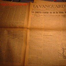 Coleccionismo Periódico La Vanguardia: DIARIO LA VANGUARDIA AÑO 1940 -JUEVES 16 DE MAYO DE 1940 - LA GUERRA TRUENA YA EN LA LINEA MAGINOT. Lote 14770391