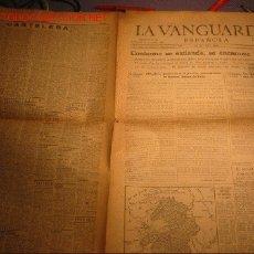 Coleccionismo Periódico La Vanguardia: DIARIO LA VANGUARDIA AÑO 1940 -MARTES 21 DE MAYO DE 1940-SE ENCARNIZA LA BATALLA. Lote 23594814