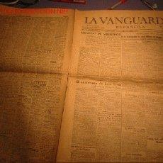 Coleccionismo Periódico La Vanguardia: DIARIO LA VANGUARDIA AÑO 1940 -DOMINGO 28 DE ABRIL DE 1940 -FALLECE EL PINTOR JOAQUIN MIR. Lote 24067756