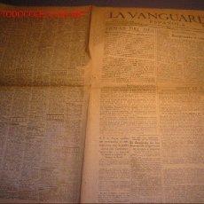 Coleccionismo Periódico La Vanguardia: DIARIO LA VANGUARDIA AÑO 1940 -DOMINGO 5 DE MAYO DE 1940 - S.S. EL PAPA RECIBE AL EMBAJADOR DE ESPAÑ. Lote 21720697