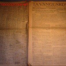 Coleccionismo Periódico La Vanguardia: DIARIO LA VANGUARDIA AÑO 1940 -DAVID LLOID GEORGE, GRAN BIZARRO DE LA POLITICA INGLESA. Lote 22312176