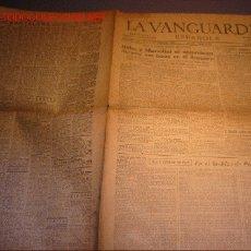 Coleccionismo Periódico La Vanguardia: DIARIO LA VANGUARDIA AÑO 1940 -SABADO 5 DE OCTUBRE DE 1940 - HITLER Y MUSSOLINI SE ENTREVISTAN. Lote 21720700