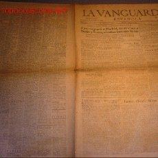 Coleccionismo Periódico La Vanguardia: DIARIO LA VANGUARDIA AÑO 1940 -DOMINGO 6 DE OCTUBRE DE 1940. Lote 10400241