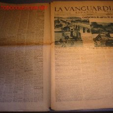 Coleccionismo Periódico La Vanguardia: DIARIO LA VANGUARIA AÑO 1940 -22 DE SEPTIEMBRE DE 1940 - CONDUCTORES DE CARROS DE COMBATE. Lote 21720693