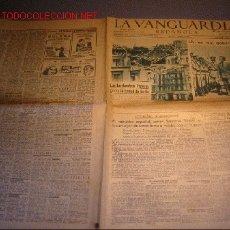 Coleccionismo Periódico La Vanguardia: DIARIO LA VANGUARDIA AÑO 1940 -18 DE SEPTIEMBRE DE 1940-LOS BOMBARDEOS INGLESES CONTRA BERLIN . Lote 24067817