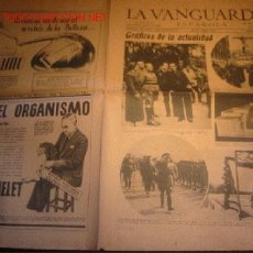 Coleccionismo Periódico La Vanguardia: DIARIO LA VANGUARDIA ,AÑO 1940 -MARTES 26 DE MARZO DE 1940-GRAFICOS DE LA ACTUALIDAD. Lote 23594813