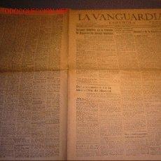 Coleccionismo Periódico La Vanguardia: DIARIO LA VANGUARDIA AÑO 1940 -30 DE MARZO DE 1940-VALENCIA CELEBRA EL PRIMER ANIVERSARIO DE SU LIBE. Lote 21720699