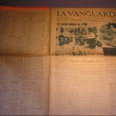 Coleccionismo Periódico La Vanguardia: DIARIO LA VANGUARDIA AÑO 1940 -JUEVES 5 DE SEPTIEMBRE DE 1940 - LA ACCION ITALIANA EN AFRICA. Lote 22163614