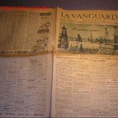 Coleccionismo Periódico La Vanguardia: DIARIO LA VANGUARDIA AÑO 1940 -VIERNES 25 DE OCTUBRE DE 1940 - EL PETROLEO RUMANO. Lote 14770387