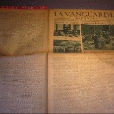 Coleccionismo Periódico La Vanguardia: DIARIO LA VANGUARDIA -15 DE SEPTIEMBRE DE 1940-EL PALACIO DE BUCKINGHAM BOMBARDEADO. Lote 23971880