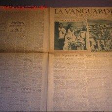 Coleccionismo Periódico La Vanguardia: DIARIO LA VANGUARDIA AÑO 1940 - VIERNES 13 DE SEPTIEMBRE DE 1940-EL CAUDILLO EN SAN SEBASTIAN. Lote 21720698