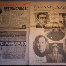 Colecionismo Jornal La Vanguardia: DIARIO LA VANGUARDIA AÑO 1940 -4 DE FEBRERO DE 1940 - ACADEMICOS DE LA REAL ESPAÑOLA DE LA LENGUA. Lote 24067827