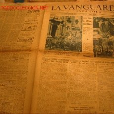 Coleccionismo Periódico La Vanguardia: DIARIO LA VANGUARDIA AÑO 1940 -VIERNES 27 DE SEPTIEMBRE DE 1940 - NOTAS GRAFICAS NACIONALES. Lote 23594817