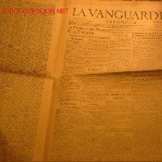 Coleccionismo Periódico La Vanguardia: DIARIO LA VANGUARDIA AÑO 1940 -12 DE MARZO DE 1940-LA FIESTA DE LOS MARTIRES DE LA TRADICION. Lote 23594816