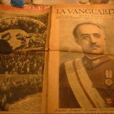 Coleccionismo Periódico La Vanguardia: DIARIO LA VANGUARDIA AÑO 1940 -VIERNES 26 DE ENERO DE 1940 - ¡FRANCO! ¡VIVA ESPAÑA!. Lote 17791033