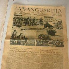 Coleccionismo Periódico La Vanguardia: LA VANGUARDIA ESPAÑOLA-SÁBADO 24 DE OCTUBRE DE 1942- 8 PÁGINAS. . Lote 24103537