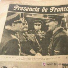 Coleccionismo Periódico La Vanguardia: LA VANGUARDIA ESPAÑOLA-MIERCOLES 1 DE OCTUBRE DE 1941-8 PÁGINAS, MÁS SUP. GRÁF. DE 4 PÁG. . Lote 23152964