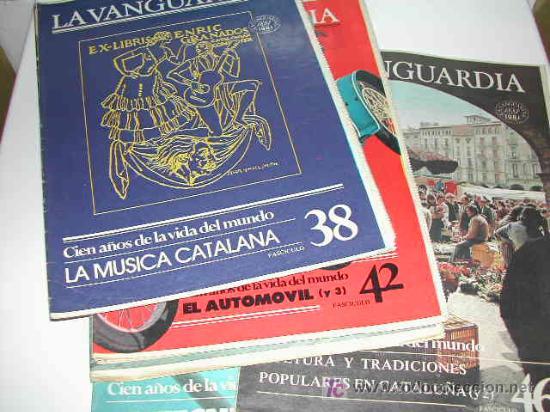 Coleccionismo Periódico La Vanguardia: CIEN AÑOS DE VIDA CATALANA - CIEN AÑOS DE VIDA DEL MUNDO - LA VANGUARDIA 1881- 1981 - Foto 2 - 23218963