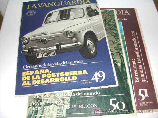 Coleccionismo Periódico La Vanguardia: CIEN AÑOS DE VIDA CATALANA - CIEN AÑOS DE VIDA DEL MUNDO - LA VANGUARDIA 1881- 1981 - Foto 3 - 23218963