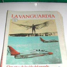 Coleccionismo Periódico La Vanguardia: CIEN AÑOS DE VIDA DEL MUNDO (I) - LA VANGUARDIA 1881- 1981. Lote 4557307