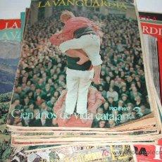Coleccionismo Periódico La Vanguardia: CIEN AÑOS DE VIDA CATALANA - CIEN AÑOS DE VIDA DEL MUNDO - LA VANGUARDIA 1881- 1981. Lote 4557335