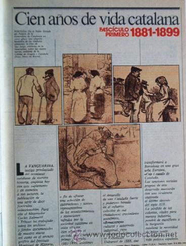 Coleccionismo Periódico La Vanguardia: LA VANGUARDIA - CIEN AÑOS DE VIDA CATALANA - 1881/1981 - Foto 5 - 25984207