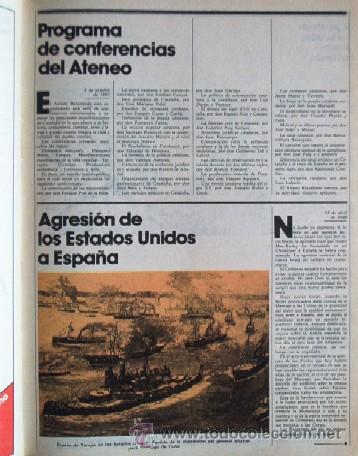 Coleccionismo Periódico La Vanguardia: LA VANGUARDIA - CIEN AÑOS DE VIDA CATALANA - 1881/1981 - Foto 6 - 25984207