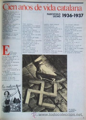 Coleccionismo Periódico La Vanguardia: LA VANGUARDIA - CIEN AÑOS DE VIDA CATALANA - 1881/1981 - Foto 9 - 25984207
