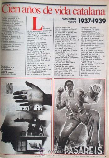 Coleccionismo Periódico La Vanguardia: LA VANGUARDIA - CIEN AÑOS DE VIDA CATALANA - 1881/1981 - Foto 10 - 25984207