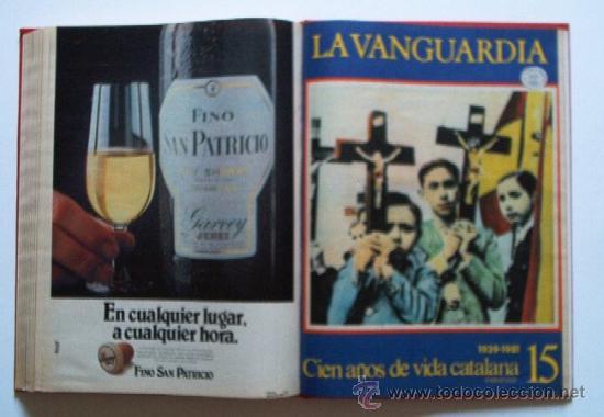 Coleccionismo Periódico La Vanguardia: LA VANGUARDIA - CIEN AÑOS DE VIDA CATALANA - 1881/1981 - Foto 22 - 25984207