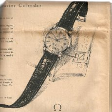 Coleccionismo Periódico La Vanguardia: LA VANGUARDIA SEPTIEMBRE 1954.PUBLICIDAD OMEGA.PAZO DE MEIRAS.. Lote 9319795