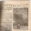 Coleccionismo Periódico La Vanguardia: LA VANGUARDIA SEPTIEMBRE 1954.MUERTE DE EUGENIO D'ORS.LA MERCED.RALLY PIRINEOS.. Lote 9331018