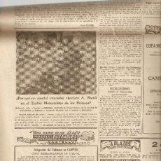 Coleccionismo Periódico La Vanguardia: LA VANGUARDIA SEPTIEMBRE 1954.TERRASSA.TARRASA.MOTOCICLISMO.BARCELONA.MONTSERRAT.OMEGA.. Lote 9333588